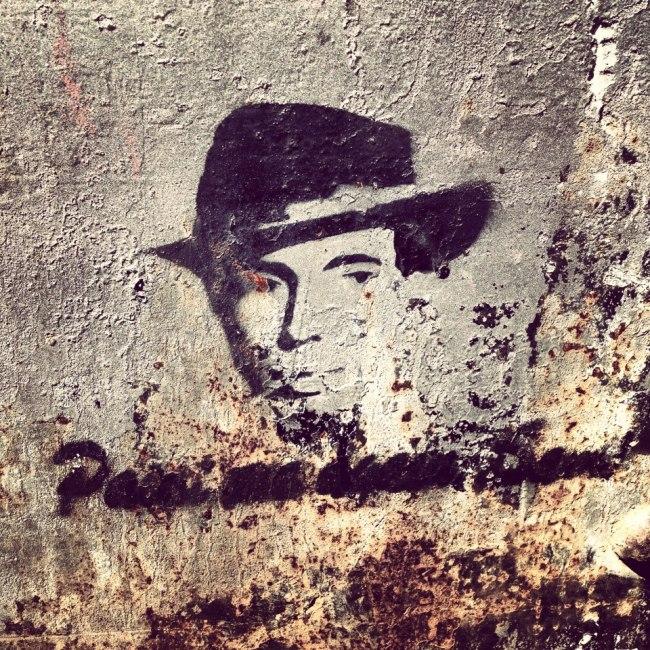 Montjuic grafitti