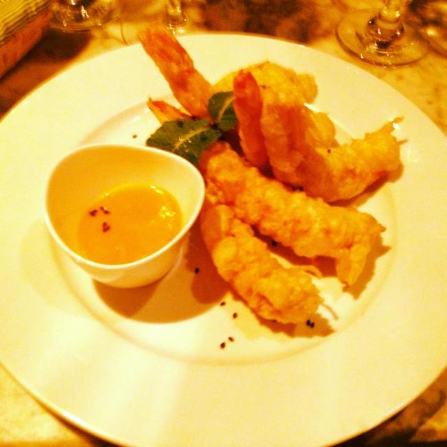 Cera 23 - tempura prawns