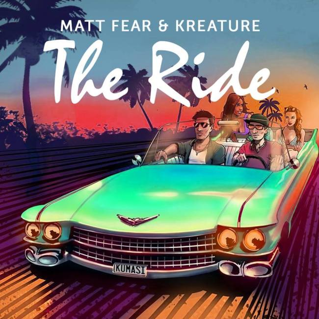 Matt Fear the ride
