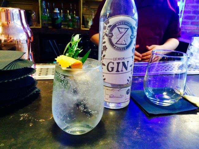 hedonist project lemon gin